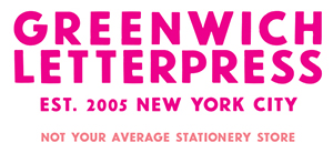 Custom letterpress and greeting cards in nyc greenwich letterpress logo m4hsunfo