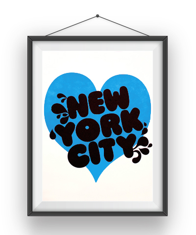 NYC_Poster_Blue
