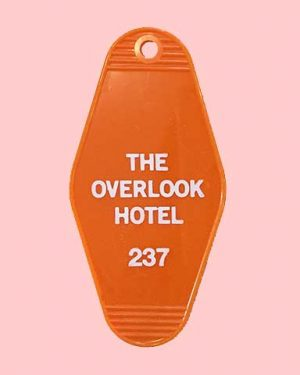 The Overlook Hotel Room 237 Key Tag