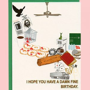 Agent Cooper Birthday Twin Peaks Greeting Card