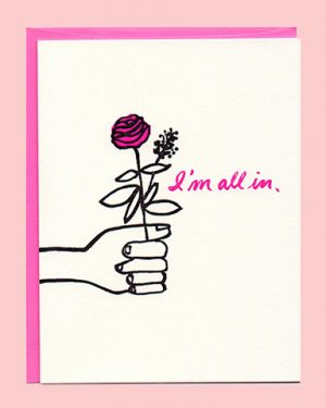 All In Gilmore Girls Greeting Card