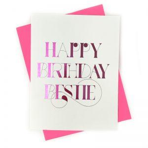 Bestie Card