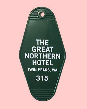 Great Northern Key Tag Twin Peaks