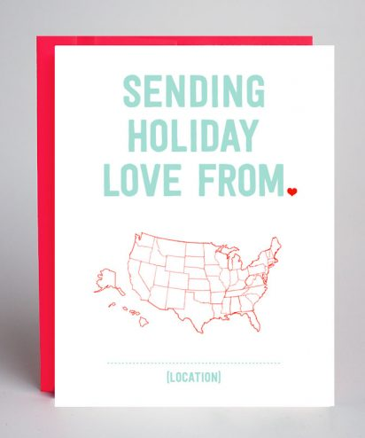 Sending Holiday Love From