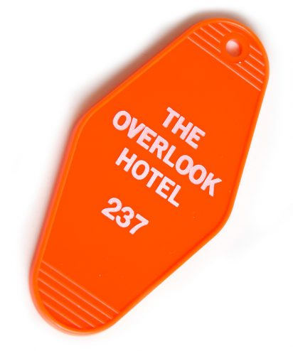 Overlook Hotel Room 237 Key Tag
