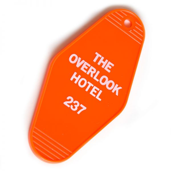 Overlook Hotel Room 237 Key Tag