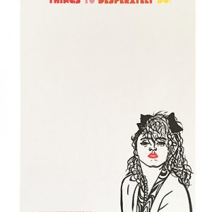 Madonna Notepad