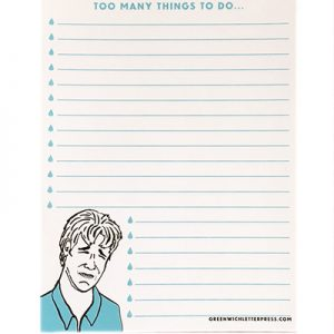 Sad Dawson Notepad