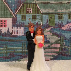 wedding couple candle