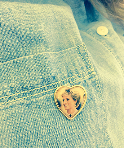 Princess Diana commemorative pin