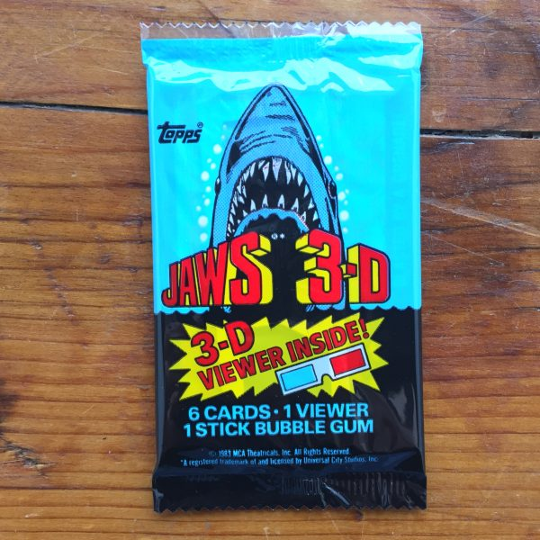 jaws movie cards