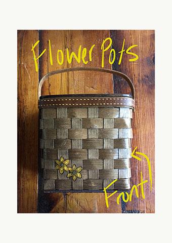 flower pot front