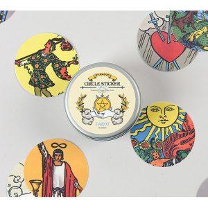 tarot card labels