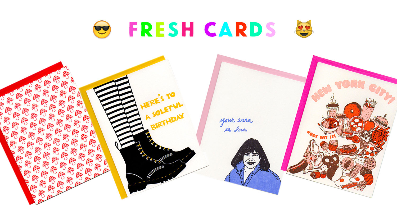 Greenwich Letterpress New Cards 2017