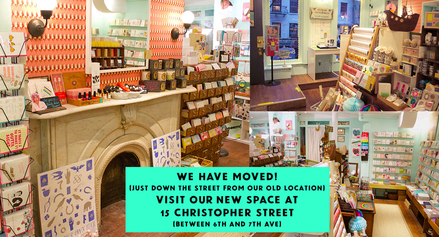Greenwich Letterpress Moved to 15 Christopher Street New York City