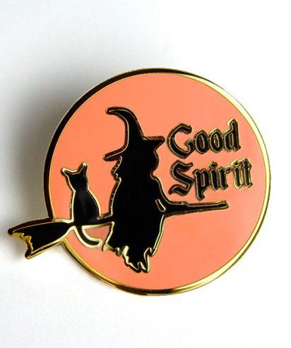 Good Spirits Enamel Pin
