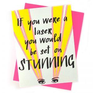 Laser Card Love