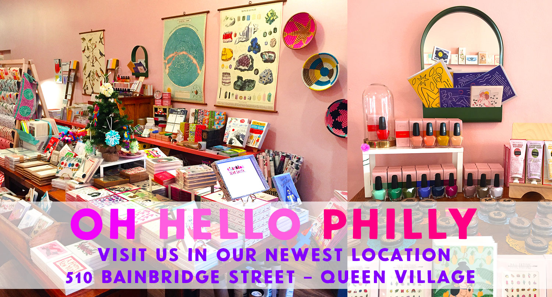 Greenwich Letterpress Philadelphia Queen Village