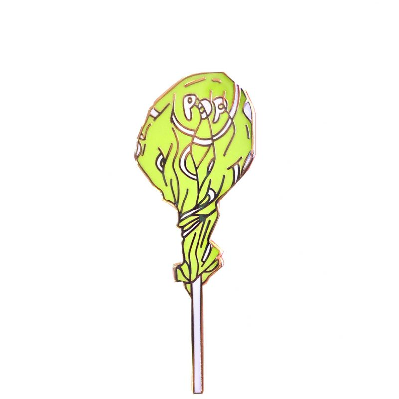 lollipop enamel pin