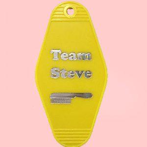 Team Steve Key Tag