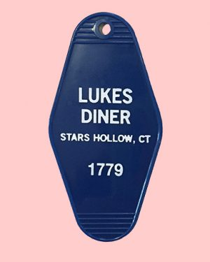 Lukes Diner Key Tag Gilmore Girls