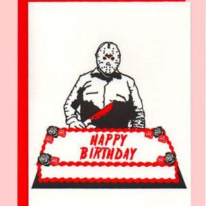 jason friday the 13th horror birthday funny