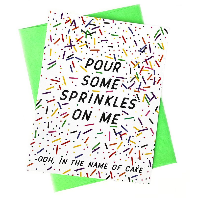Pour Some Sprinkles on Me