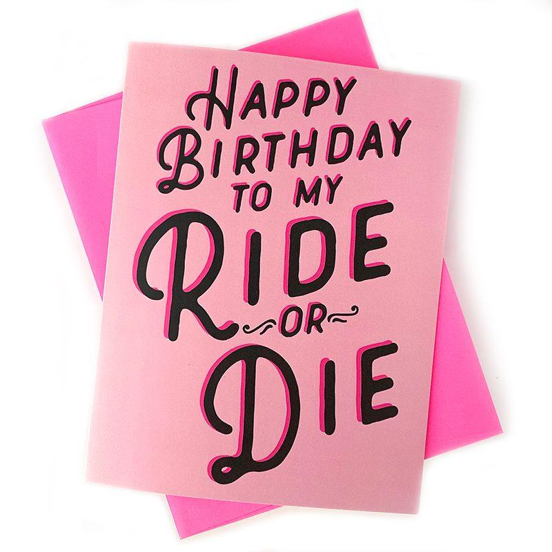 Ride or Die Card