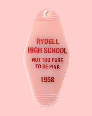 Rydell High Key Tag Motel Key Tag
