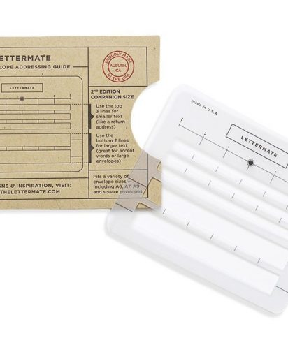 Lettermate 2nd edition