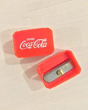 coca cola sharpener detail