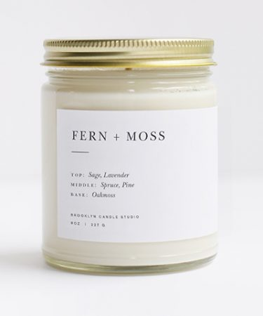 Fern + Moss Candle