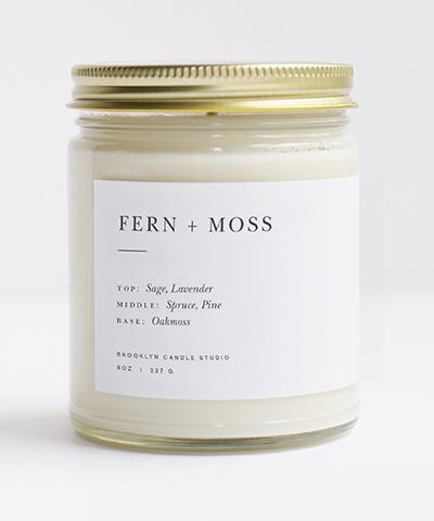 Fern + Moss Candle