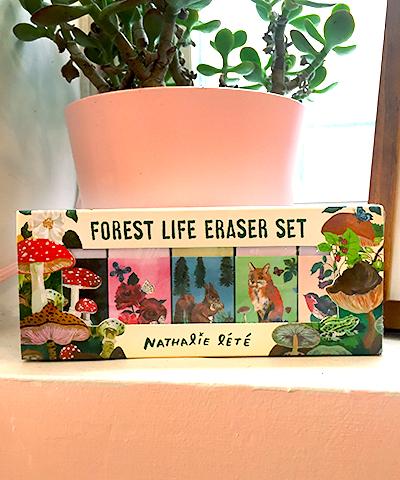 Nathalie Lété Forest eraser set