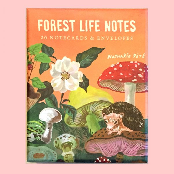 Forest Life Note Cards