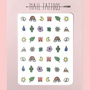 Great Outdors Nail Tattoos