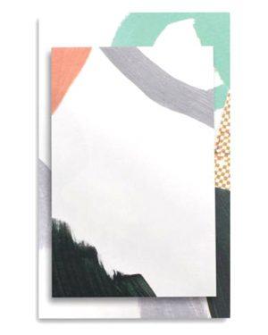 DESK ART NOTEPAD SET SLOANE DETAIL