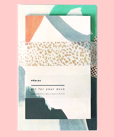 DESK ART NOTEPAD SET SLOANE