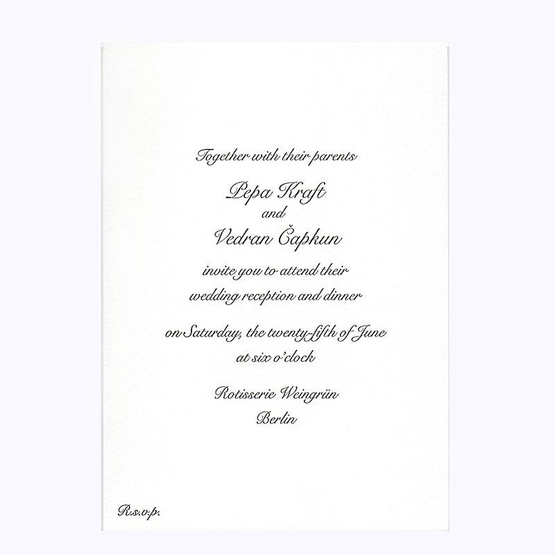 Pepa-Letterpress-Wedding-Invitation - Greenwich Letterpress