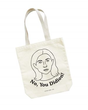 no you didion tote bag
