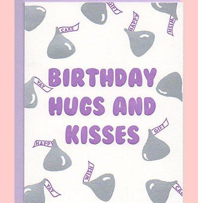 Birthday Kisses Card