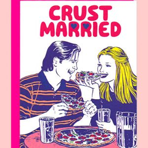 Crust Married Wedding Card Pizza