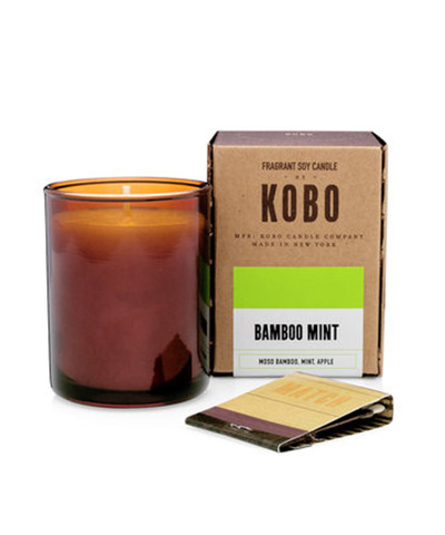 Kobo Bamboo Mint Votive