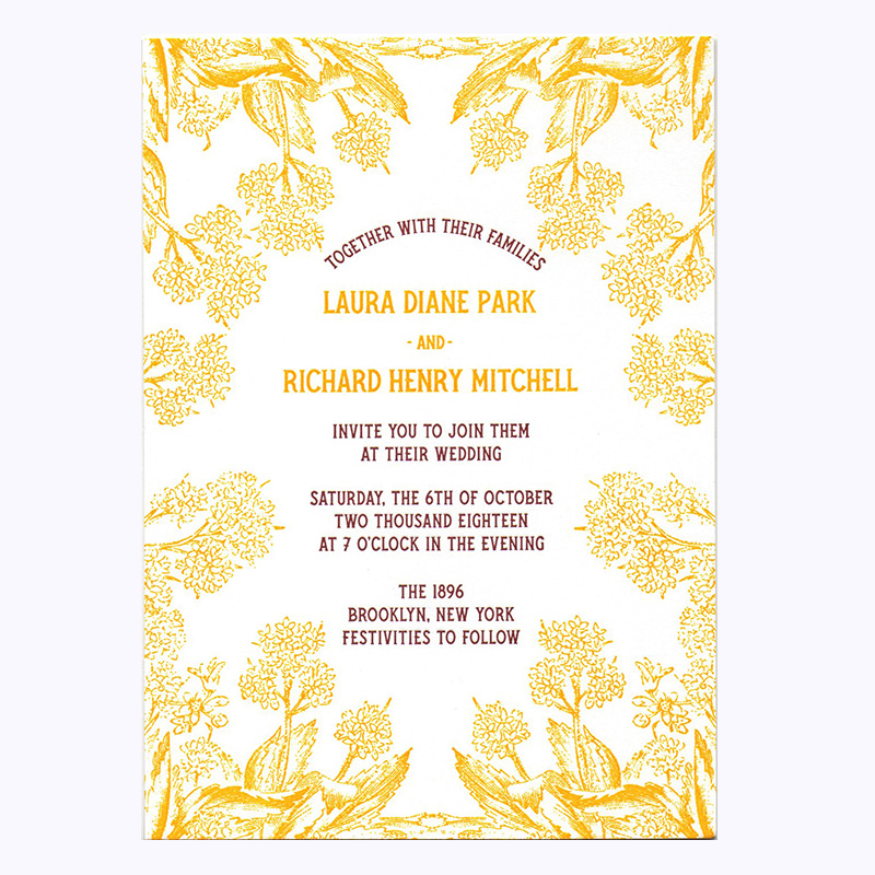Custom Letterpress And Greeting Cards In NYC