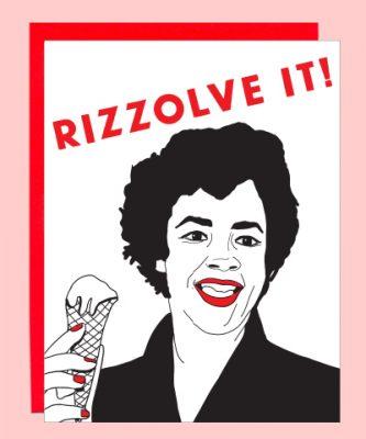 rizzo greeting card