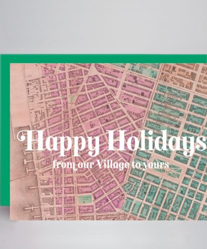 Greenwich Village Holiday Card