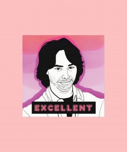 keanu sticker