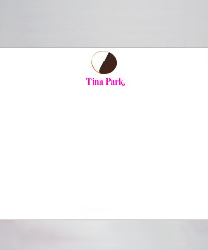 Black and White cookie stationery