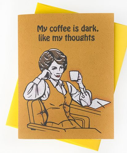 Dark Thoughts Card
