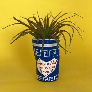 hello happy plants planter